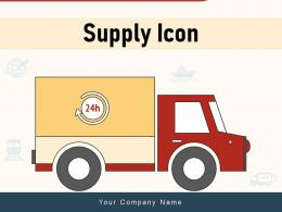 Supply Icon Product Transportation Customer Distribution Logistic