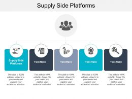 Supply Side Platforms Ppt Powerpoint Presentation Gallery Graphics Tutorials Cpb