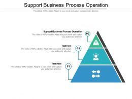 Support Business Process Operation Ppt Powerpoint Presentation Slides Graphics Template Cpb