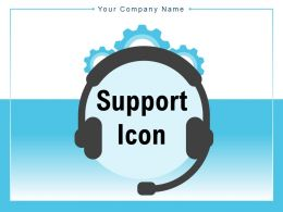 Support Icon Customer Friendship Arrow Rotating Strategy