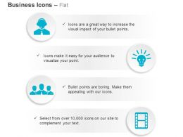 Support Idea Community Video Marketing Ppt Icons Graphics