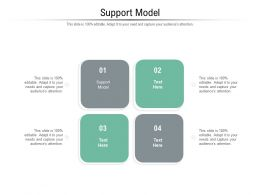 Support Model Ppt Powerpoint Presentation Inspiration Example Topics Cpb