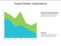 Support Review Organizational Ppt Powerpoint Presentation Ideas Model Cpb