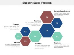 Support Sales Process Ppt Powerpoint Presentation Summary Good Cpb