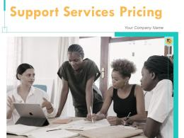 Support Services Pricing Powerpoint Presentation Slides