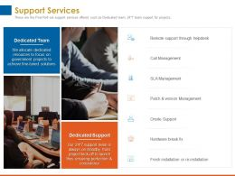 Support Services Version Management Ppt Powerpoint Presentation Example 2015