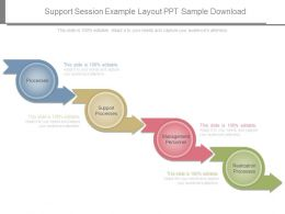 Support Session Example Layout Ppt Sample Download