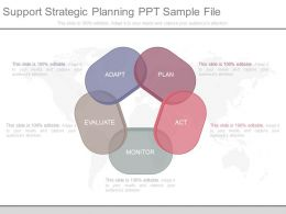 Support Strategic Planning Ppt Sample File