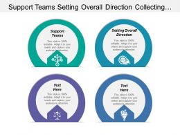 Support Teams Setting Overall Direction Collecting Performance Information