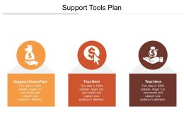 Support Tools Plan Ppt Powerpoint Presentation Gallery Display Cpb