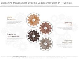 Supporting Management Drawing Up Documentation Ppt Sample