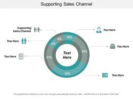 Supporting Sales Channel Ppt Powerpoint Presentation Gallery Slide Portrait Cpb
