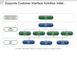 Supports Customer Interface Activities Initial Analysis Triage Team