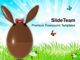 Suprise Your Friends With Easter Bunny Powerpoint Templates Ppt Themes And Graphics 0313