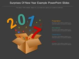 Surprises Of New Year Example Powerpoint Slides