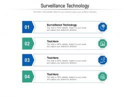 Surveillance Technology Ppt Powerpoint Presentation Professional Aids Cpb