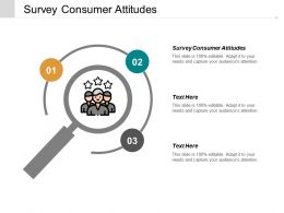 Survey Consumer Attitudes Ppt Powerpoint Presentation Inspiration Graphics Download Cpb