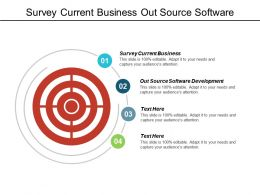 survey_current_business_out_source_software_development_organization_structure_cpb_Slide01