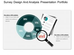 Survey Design And Analysis Presentation Portfolio