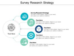 Survey Research Strategy Ppt Powerpoint Presentation Visual Aids Professional Cpb