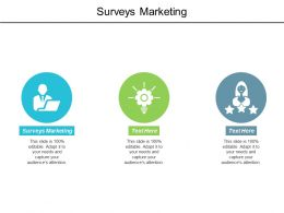Surveys Marketing Ppt Powerpoint Presentation Portfolio Microsoft Cpb