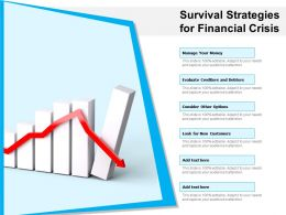 Survival Strategies For Financial Crisis