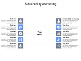 Sustainability Accounting Ppt Powerpoint Presentation Professional Examples Cpb