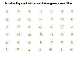 Sustainability And Environmental Management Icons Slide L973 Ppt Slide