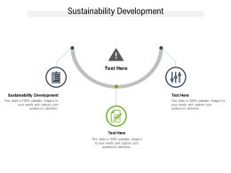 Sustainability Development Ppt Powerpoint Presentation Infographics Show Cpb
