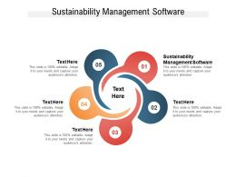 Sustainability Management Software Ppt Powerpoint Presentation Infographics Background Images Cpb