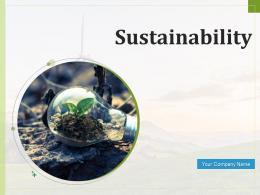 Sustainability Social Concerns Consumer Solutions Business Model
