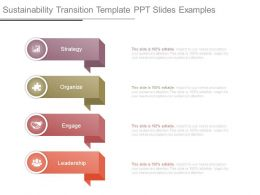 Sustainability Transition Template Ppt Slides Examples