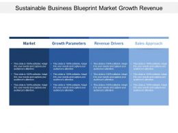 Sustainable Business Blueprint Market Growth Revenue
