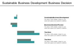 Sustainable Business Development Business Decision Process Learn Agile Development Cpb