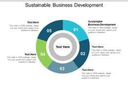 Sustainable Business Development Ppt Powerpoint Presentation Infographic Template Outfit Cpb