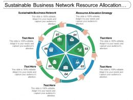 Sustainable Business Network Resource Allocation Strategy Operations Management Cpb