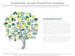 Sustainable Growth Powerpoint Graphics