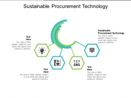 Sustainable Procurement Technology Ppt Powerpoint Presentation Infographic Template Introduction Cpb