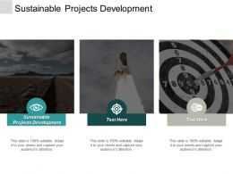 Sustainable Projects Development Ppt Powerpoint Presentation Professional Tips Cpb
