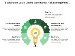 Sustainable Value Chains Operational Risk Management Composition Business Portfolio