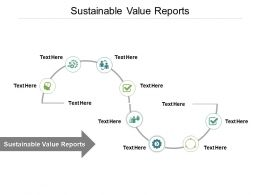 Sustainable Value Reports Ppt Powerpoint Presentation File Professional Cpb
