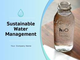 Sustainable Water Management Powerpoint Presentation Slides