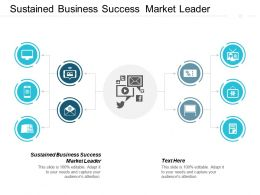 Sustained Business Success Market Leader Ppt Powerpoint Presentation Pictures Cpb