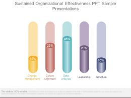 Sustained Organizational Effectiveness Ppt Sample Presentations
