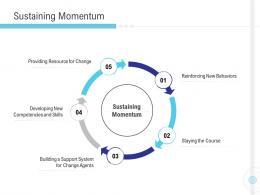 Sustaining Momentum Implementation Management In Enterprise Ppt Elements