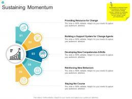 Sustaining Momentum Organizational Change Strategic Plan Ppt Brochure
