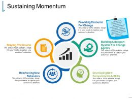 Sustaining Momentum Presentation Powerpoint