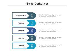 Swap Derivatives Ppt Powerpoint Presentation Inspiration Format Cpb