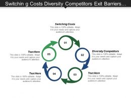 Switching Costs Diversity Competitors Exit Barriers Market Development