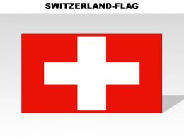 Switzerland Country Powerpoint Flags